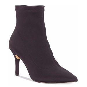 NEW INC Women's Zetef Dress Boots Black Size 10 M